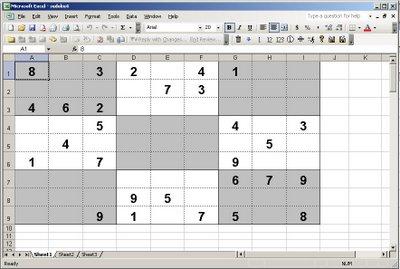 Unsolved Sudoku