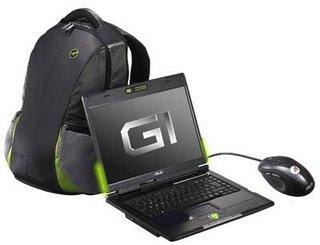 Asustek's new G2 gaming notebooks