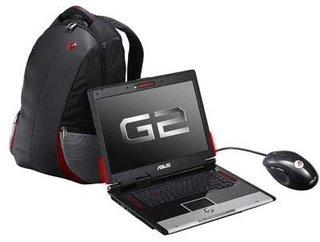 Asustek's new G1 gaming notebooks