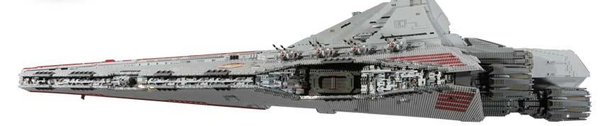 Jeff & Jeff's Pandemonium: eBay Today: LEGO Rebel Attack Cruiser
