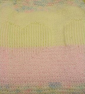 knitted baby afghan