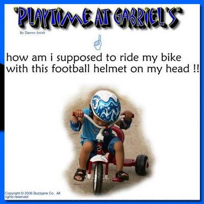 gabriel's helmet....gabrielmicahel.com