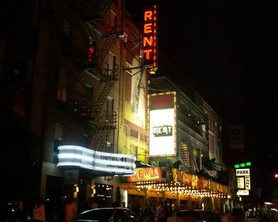 rent broadway musical, nederlander theatre, 208 west 41st street, new york, ny