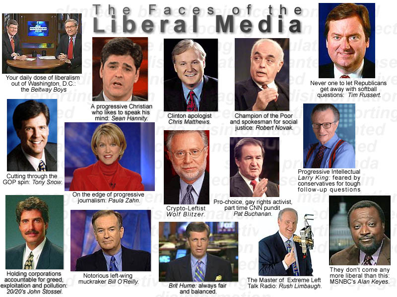 liberal media essays Do the media have a liberal bias essaydo the media have a liberal bias although media journalists claim to be impartial.