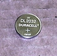 Duracell DL2032 3 Volt Lithium Coin Battery
