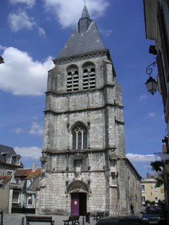 Église Saint Martial, rue Grande, Châteauroux