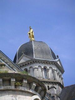 Statue de la Vierge, Église Notre Dame, Châteauroux