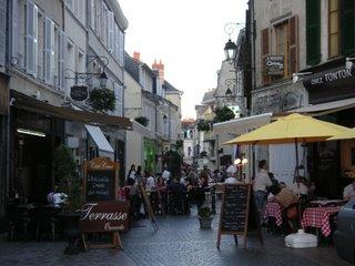 rue Grande un soir d'été, Châteauroux