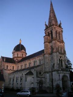 Église Notre Dame, rue J-J Rousseau, Châteauroux