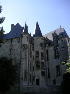 Cour intérieure du Château Raoul, Châteauroux