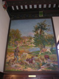 Le Moulin de la Creuse, tableau du Château Raoul, Châteauroux