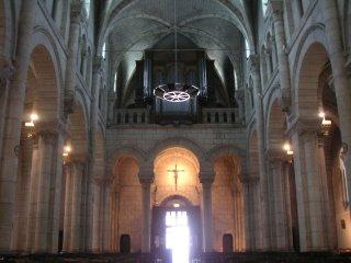 Nef de l'Église Notre Dame, rue J-J Rousseau, Châteauroux