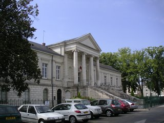 Une autre vue du tribunal, Châteauroux