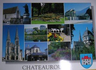 Carte postale de Châteauroux