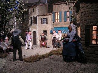 Crèche provençale. Noêl 2004, dans l'Église Saint Martial, Châteauroux