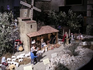 Crèche provençale; Noël 2004, St Martial, Châteauroux
