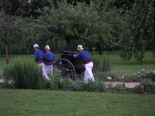 Les pompiers de l'ancien temps, festival de Nohant-Vic
