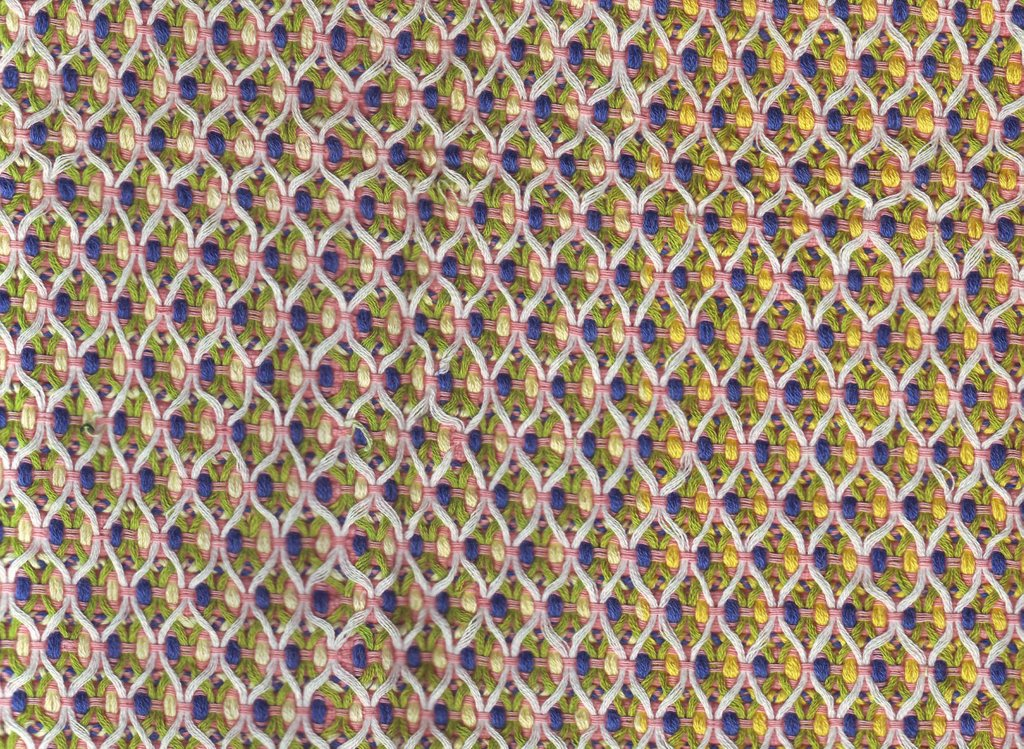 Counted Thread Huck Embroidery Table Cloth