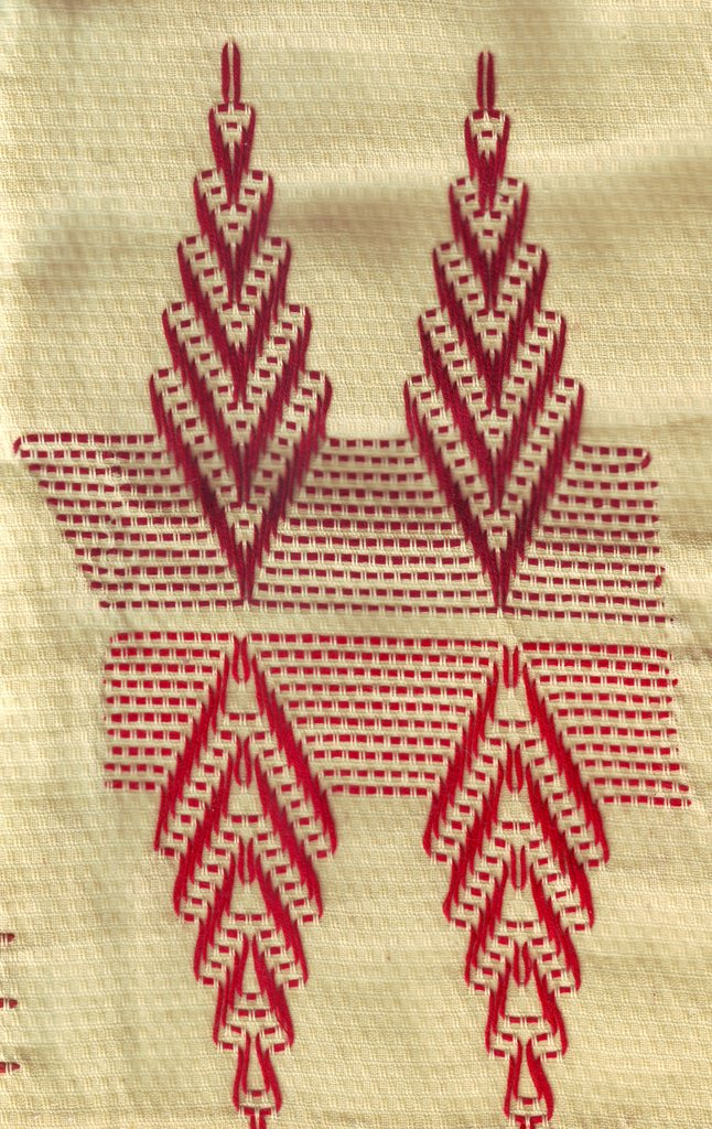 Counted Thread Huck Embroidery Patterns