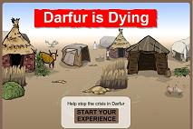 game: Darfur is dying