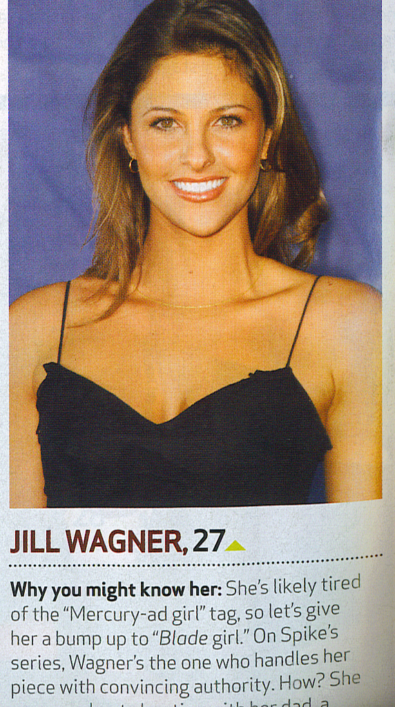 Two IMTA alumni Jill Wagner and Jessica Biel are featured in the October