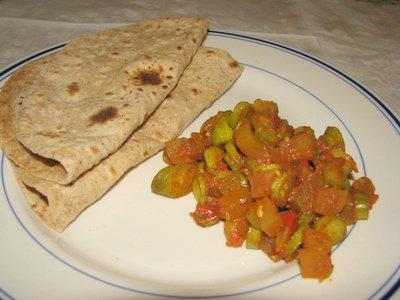 Flax seed chapathi