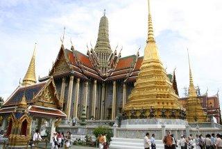 Wat Phra Kaew in Grand Palace Bangkok Thailand