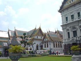 Grand Palace in Wat Phra Kaew, Bangkok, Thailand