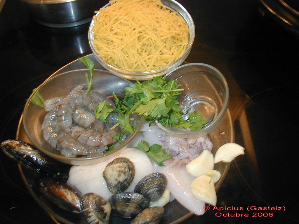 Fideuá Negre | La Cocina Paso a Paso