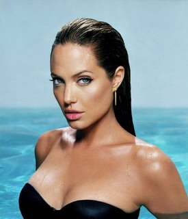 Angelina Jolie Movie Actress Voted Sexiest