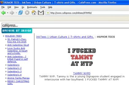 Tammy Cafepress