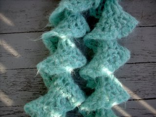 Knit Picks Suri Dream Spiral Scarf