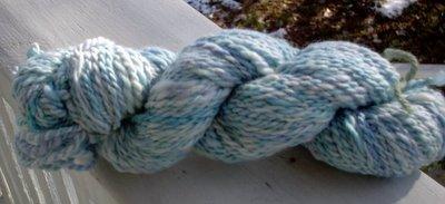 Cayli's handspun yarn