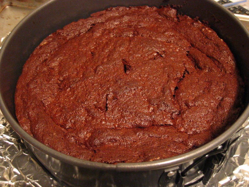 Fresh from the Oven: Chocolate Fallen Souffle Cake