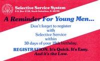 selective service card