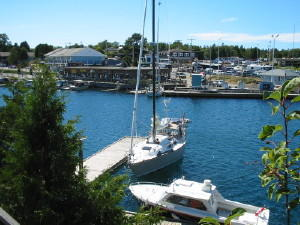 RAFT docked in Little Tub Harbour