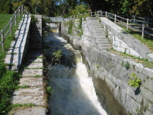 Old Canal Locks in Waterford NY