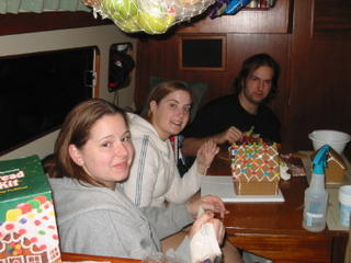 A Christmas Family tradition: gingerbread houses