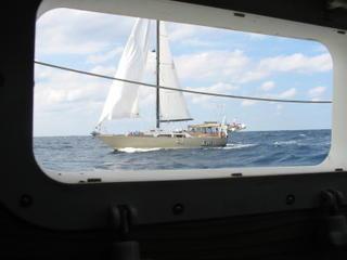 RAFT seen through Steelaway's port