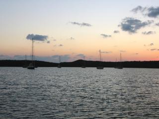 Royal Island anchorage