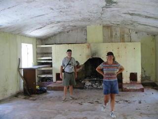 Bev & Ron in the kitchen
