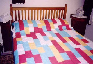 First quilt of Brenda Gael Smith