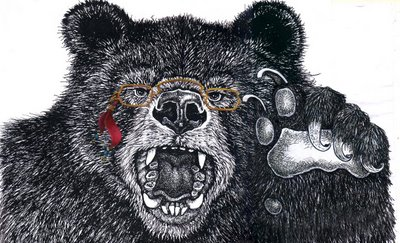 Black bear speaks environmental action and green business in michigan