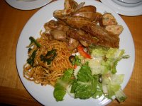 Hi-Tea Buffet food selection @ Legend Hotel