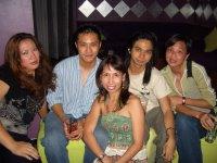 Alexia, Kris, me, Nasser & Phoebe