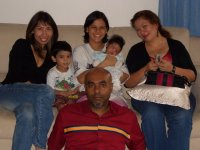 me, Elizabeth with her 2 sons, Aaron & Marcus, Alexia & Daniel, Elizabeth's hubby