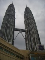 Petronas Twin Towers by day