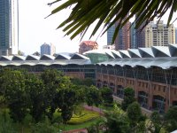 back part of the KL Convention Center from Mandarin Hotel