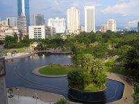 KLCC public park area