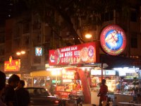 one of the many hawker stalls along Jalan Alor